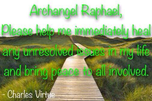 Archangel Raphael-Heal me!