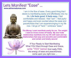 manifest with ease